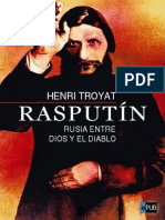 Rasputin Rusia Entre Dios y El Diablo - Henri Troyat