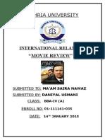 Daniyal Ir Review