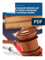 A Collins Center Special Report - Balancing Economic Interests and Fairness in Florida's Residential Mortgage Foreclosure System - April 2010