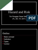 Hazard & Risk Concept
