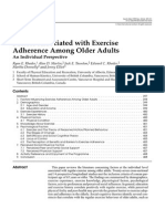Adherence Factors for old people