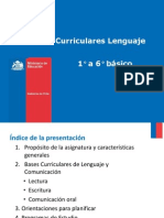 Presentacion de Bases Curriculares 1° a 6° básico_ Lenguaje y comunicación (1)