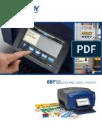 Brady BBP85 Label Printer Brochure
