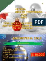 Presentación Anchetas Dicembre 2015