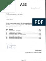 Carta Realinhamento de Preços Outubro 2015