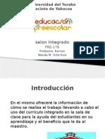 salon integrado  informe oral