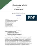 Judge William - Palabras de Un Teosofo 2