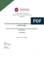 Il santuario nuragico di Monte S. Antonio di Siligo (SS). Studio analitico dei complessi cultuali della Sardegna protostorica. Nicola Ialongo