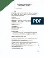 Contrato de Locação Modelo