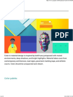Color - Style - Google Design Guidelines
