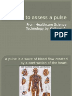 How to Assess a Pulse