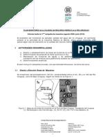 INTI - Plan de Monitoreo de la calidad del recurso hídrico en el Río Uruguay