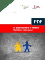 Die Gender-perspektive Im Unterricht ... - K-education