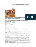 New Orleans Pecan Pie Bread Pudding