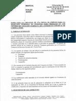 Bases Bolsa de Trabajo Logopedas y Fioterapeutas Castellano