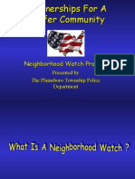 Neighborhood Watch Implementation