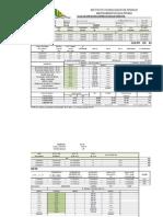 Tabla en Excel para calculo diámetro mas económico