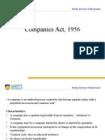 Mod 5 Companies Act, 1956