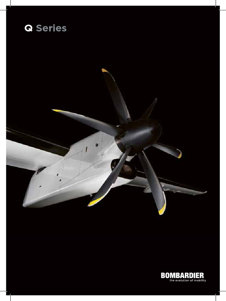 Bombardier Commercial Aircraft Q Series Brochure en 151015 | Jet