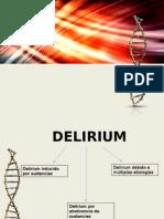 Delirium y Demencia