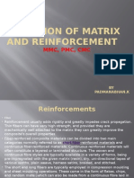 Selection of Matrix and Reinforcement