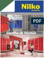 cartilha de armarios Nilko