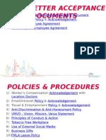 Policies Presentation