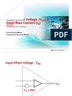 opamp Vos and Ib - Slides