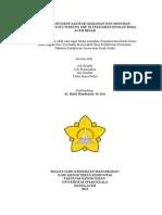 Analisa Hygiene Sanitasi Makanan Bakso x Di Daerah Mesjid Raya Baiturrahman (Eka - Copy