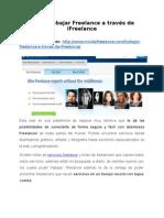 Cómo trabajar Freelance a través de iFreelance