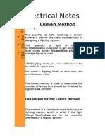 Lumen Notes
