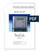 SL1188 Ultrasonic Flow Meter
