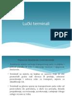 Planiranje Luka i Terminala - Nastava XI