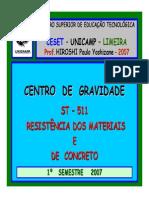 Centro de Gravidade de Figuras Planas