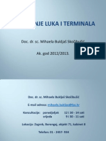 Planiranje Luka i Terminala-I