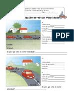 FT - Velocidade, Caracterização Do Vector
