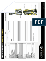 Inspection Form Full Body Harness
