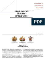 2001 Jaguar S-type Drivers Handbook