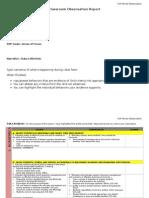observation template 1