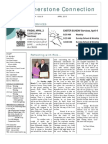 Newsletter Apr 2010