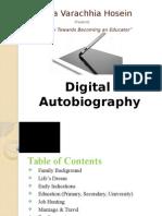 a digital autobiography