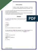 Trabajo Academico - Matematica Financiera