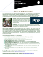 U.S. National Aboretum Internships
