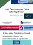 Pennsylvania DGS 2016 Presentation - Citizen Engagement - Bill Finnerty