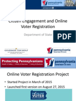 Pennsylvania DGS 2016 Presentation - Citizen Engagement - Bill Finnerty