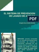 El Sistema de Prevenciòn de Lavados de Activos 1