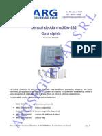 Manual Central ZDA 232 WATER