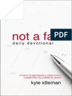 Not a Fan Daily Devotional Sample