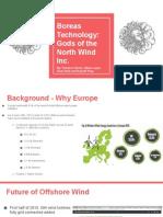 boreas technology wind power presentation