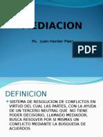 Mediacion.def.conflicto.modelos.ppt